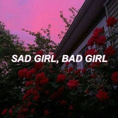 Новости Грустная девушка,плохая девушка