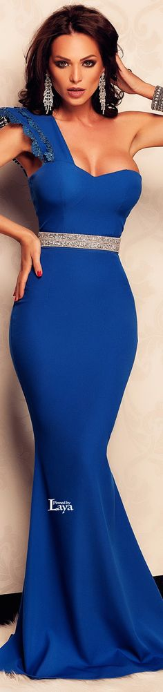 Beautiful Dress for special occasions Tight Dresses, Sexy Dresses, Blue Dresses, Beautiful Dresses, Robes Glamour, Fashion Vestidos, Blue Fashion, Womens Fashion, Sexy Women