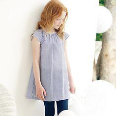 Seersucker Stripe Dress | The White Company