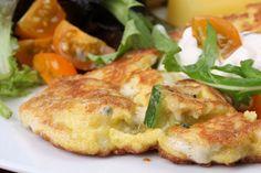 Κολοκυθοκάππαρη - Zucchini and capers fritters