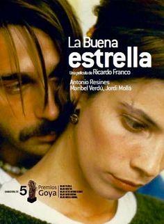 Maribel Verdú y La buena estrella (1997) Película de Ricardo Franco con Antonio Resines y Jordi Mollá.
