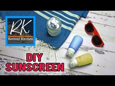 If you've ever wanted to make your own homemade waterproof sunscreen, this is a tried and true recipe that looks, feels, and works as well as store-bought.