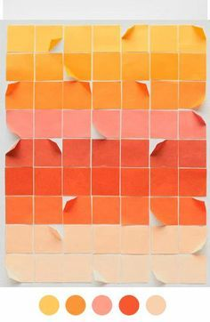 beige, burnt orange, color carrot, color matching, dark tangerine