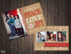 Peace Love & Joy 2 Sided Photo by SweetTeaSpecialties on Etsy