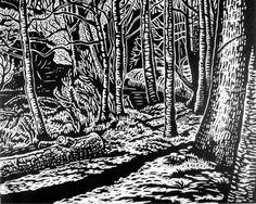North Carolina Woodcuts ‹ Mollie Doctrow