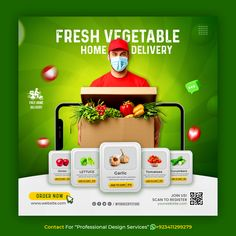 """Contact for """"Professional Design Service"""" +923411299279 (whatsapp) Creative concept social media instagram post for Online Food Delivery template Contact For #freepik #creative #banner #post #template #delivery #food #delivery S Logo Design, Web Design, Flyer Design, Ads Creative, Creative Artwork, Creative Posters, Social Media Poster, Social Media Design, Organic Vegetable Delivery"""