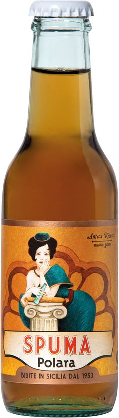 Spuma linea antica ricetta sotf-drink Polara. Andrea Baglieri bomastudio © 2009 - Soft drik - bibite - boisson