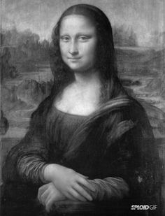 How many people by now can say that their experience of the Mona Lisa as a painting is more vivid than their memory of it as a post card? Description from techbiotic.com. I searched for this on bing.com/images