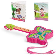 American Girl Strings & Wings Guitar