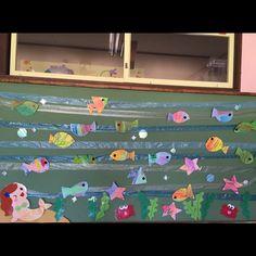 【アプリ投稿】2,3歳児夏の壁面 | みんなのタネ | あそびのタネNo.1[ほいくる]保育や子育てに繋がる遊び情報サイト