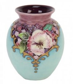 Picture of Amethyst Bouquet Vase 4 inches [Old Tupton Ware]