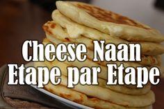 «Miam Miam Miam» Je suis obligée de commencer cette recette en disant cela! Les Cheese Naans sont un impératif lorsque vous allez manger dans un restaurant indien. Comme vous le savez, j'adore reproduire ce que je mange dehors parce que c'est souvent meilleur et bien évidement, vous savez ce qu'il y a dans votre assiette! …