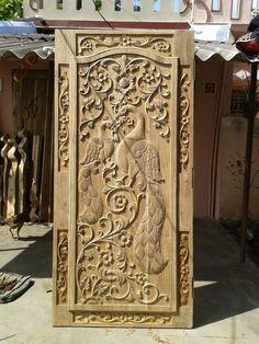 New Single Barn Door Bedrooms 48 Ideas Single Door Design, Wooden Front Door Design, Home Door Design, Double Door Design, Pooja Room Door Design, Wooden Front Doors, Door Design Interior, Interior Exterior, Interior Doors
