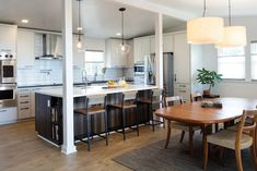 A renovated Aiea kitchen encourages gatherings. Baby Shower Games, Home Remodeling, Kitchen Design, Interior Design, Hawaii, Kitchens, Places, Table, Kitchen Islands