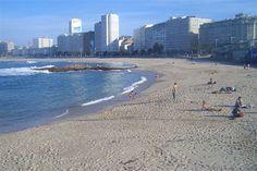 playas Riazor