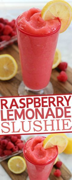 Lemonade Slushie Raspberry Lemonade Slushie Recipe: the recipe seems to have left out the vodka.Raspberry Lemonade Slushie Recipe: the recipe seems to have left out the vodka. Non Alcoholic Drinks, Fun Drinks, Yummy Drinks, Yummy Food, Refreshing Drinks, Slushy Alcohol Drinks, Mixed Drinks, Holiday Drinks, Cold Drinks