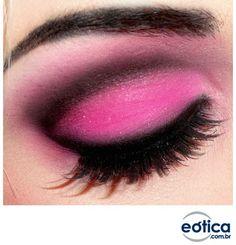 Sombra Rosa #make #maquiagem #pink