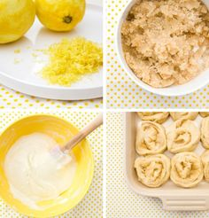 Sticky lemon rolls with lemon cream cheese glaze - basically, lemon heaven. From The Best Remedy