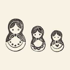Image result for russian doll tattoo