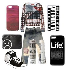 All you need is me by lordymimi on Polyvore featuring Clover Canyon, Isabel Marant, Converse, Jigsaw, Marc by Marc Jacobs, CellPowerCases and Korres