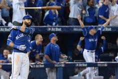 Jose Bautista's bat flip nearly breaks the internet