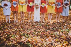 The most PERFECT fall wedding I've ever seen!!  Autumn Woodland Wedding: Natalie + Mark