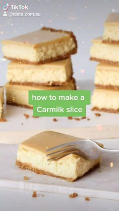 Fun Baking Recipes, Healthy Dessert Recipes, Sweets Recipes, Easy Desserts, Easy Dessert Recipies, Australian Desserts, Australian Recipes, Aussie Food, How Sweet Eats