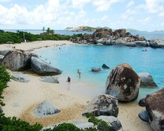 """""""At the beach, life is different. Time doesn't move hour to hour but mood to moment. We live by the currents, plan by the tides and follow the sun."""" [Virgin Gorda, British Virgin Islands]"""