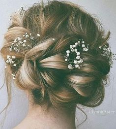 bridal #hairdo. #braids.                                                       …