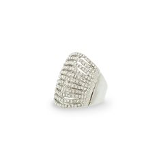 """""""Reveal"""" stretch ring - sparkle from afar by ordering yours today at www.tracilynnjewelry.net/23575"""