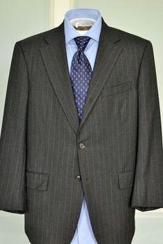 Richard Edwards Suit/ Men's Vintage 2 Piece Suit/ c. 1995/ Brown Pinstripe Suit/ Three Button Suit/ 1990s menswear ihYTvj5jsJ