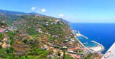 Magical Madeira island...  Calheta Beach