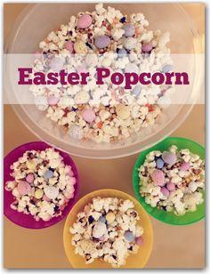 Easy peasy Easter Popcorn