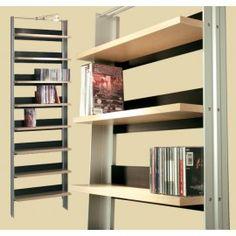 MUSICTOOLS CDVD 8 shelves 62x199 cm