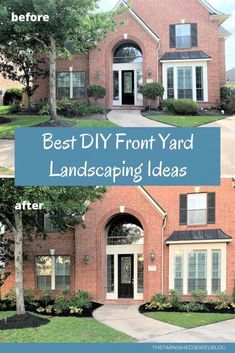 Looking for a simple Cheap Landscaping Ideas, Front Yard Landscaping, Houston Garden, Landscape Plans, Outdoor Areas, Curb Appeal, Planting Flowers, Outdoor Living, Budget