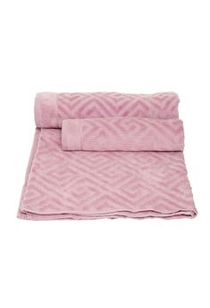 Home Collection - Set Toalla Greek Rosa