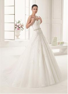 Marvelous Tulle Sweetheart Neckline A-line Wedding Dresses with Detachable Jacket
