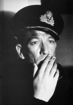 Noel Coward photographed by Cecil Beaton for In Which We Serve, 1942