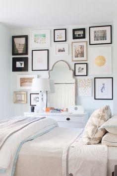 壁に絵を飾る方法画像