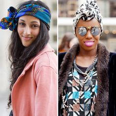 HAIR LUSTING // Wearing Head Wraps and Head Scarves