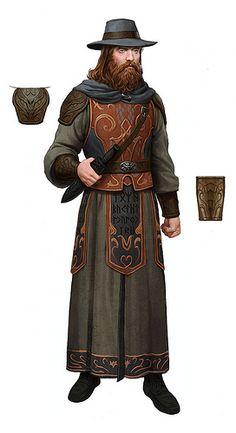 Dunland armour Rune-keeper