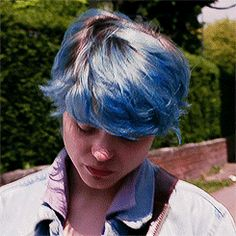 gif * mine lea seydoux blue is the warmest color