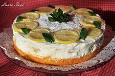 Tort de lamaie cu crema de branza si Limoncello