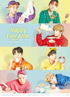 #BTS JAPAN OFFICIAL FANMEETING VOL.4 ~Happy Ever After~が開催決定!メンバーからのメッセージもお見逃しなく!詳細はコチラ