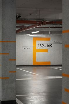 Wayfinding system for an office-residential building Rajska 8 and Heweliusza 18 in Gdansk, Poland Park Signage, Wayfinding Signage, Environmental Graphic Design, Environmental Graphics, Parking Design, Signage Design, Exhibition Booth Design, Exhibition Display, Exhibition Stands