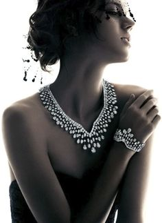 Harry Winston Holiday '12 Campaign  Model: Freja Beha Erichsen Photography by Patrick Demarchelier