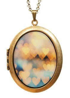 Keep The Love Locket Necklace ღ