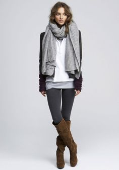Time to start bundling up with your favorite boots/scarves! Absolutely LOVE fall fashion:)