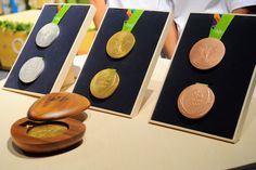 Athletes at the Rio 2016 Olympics will be taking home bits of recycled mirrors…