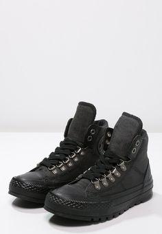 Converse CHUCK TAYLOR ALL STAR STREET HIKER - Sneakers hoog - black - Zalando.nl